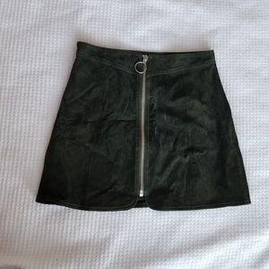 Genuine Leather Zara Skirt